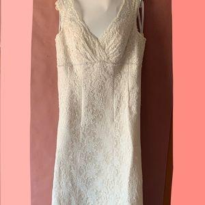 Woman's wedding dress